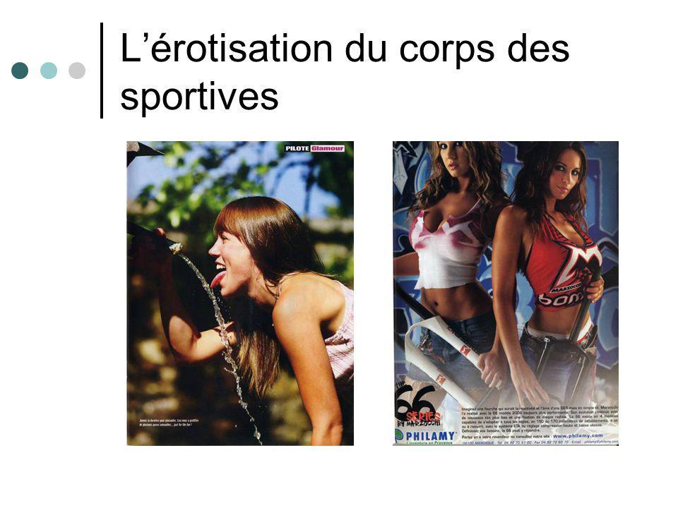 L'érotisation du corps des sportives