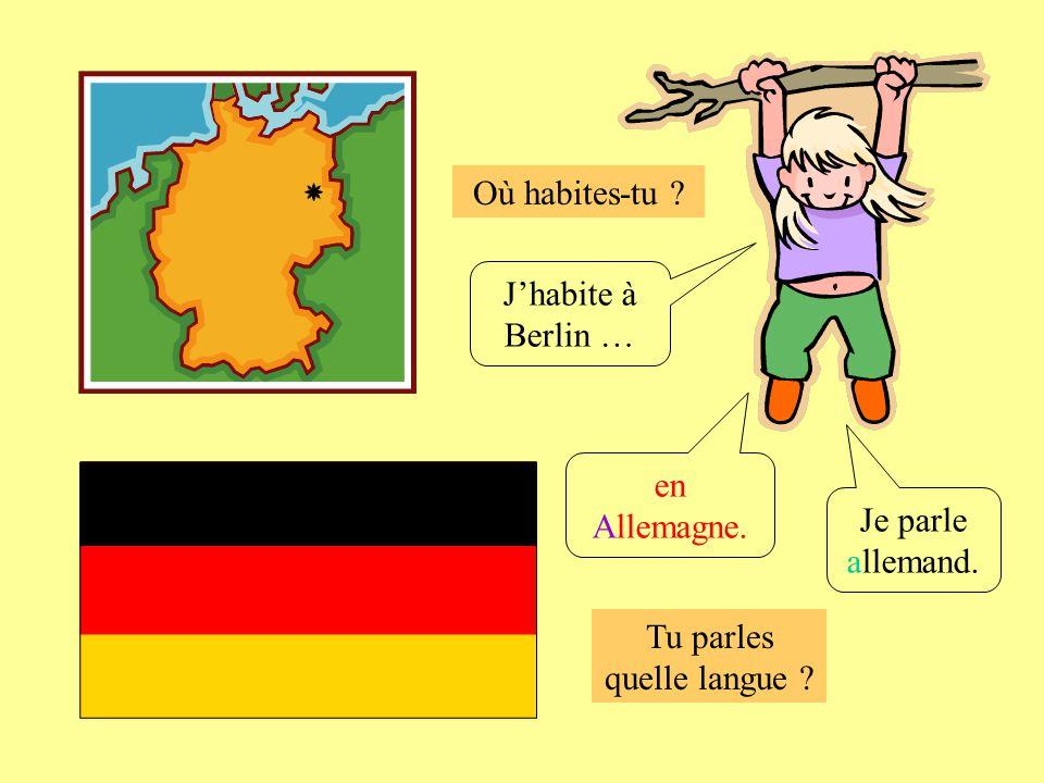 Tu parles quelle langue