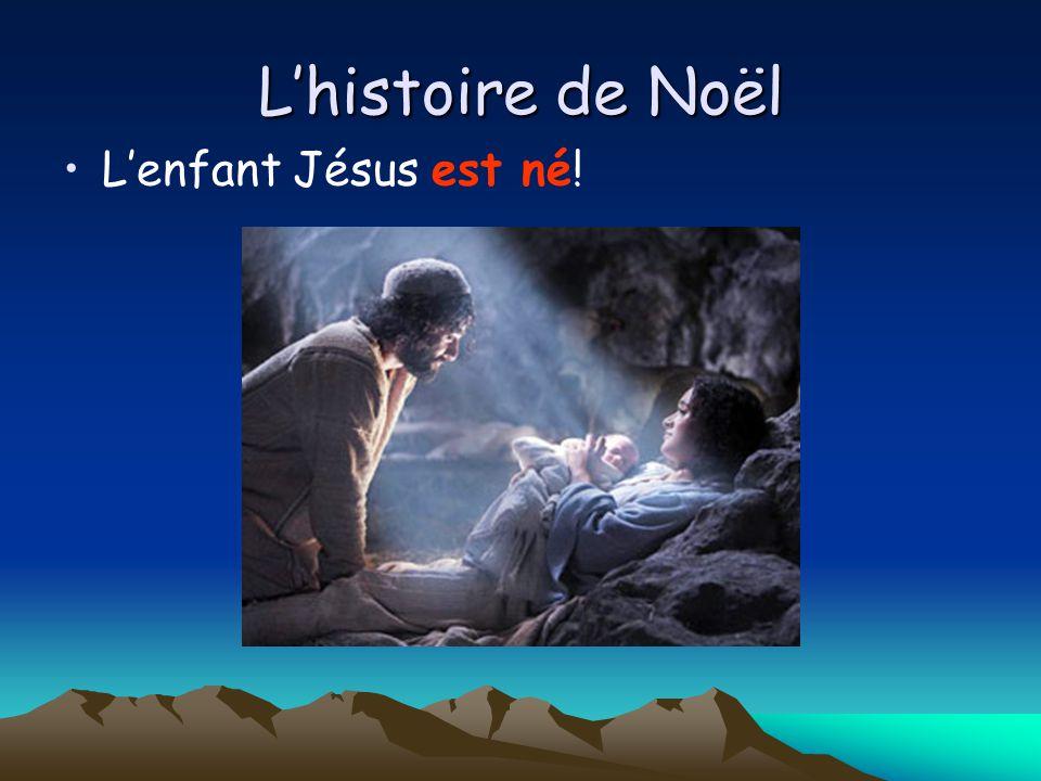 L'histoire de Noël L'enfant Jésus est né!