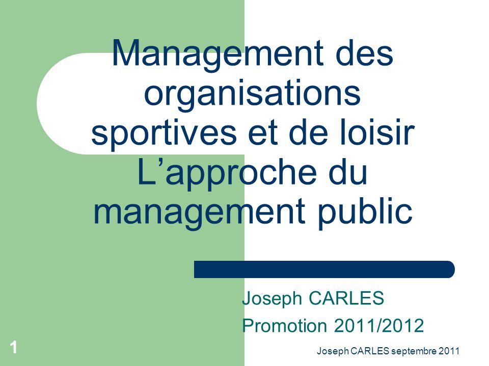 Joseph CARLES Promotion 2011/2012