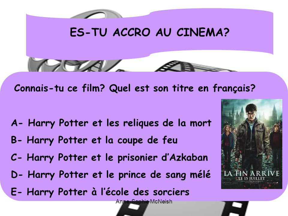 R ponds aux questions suivantes afin de le savoir ppt - Harry potter et la coupe de feu en streaming ...
