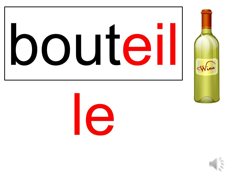 bouteille
