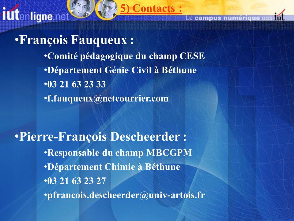 Pierre-François Descheerder :