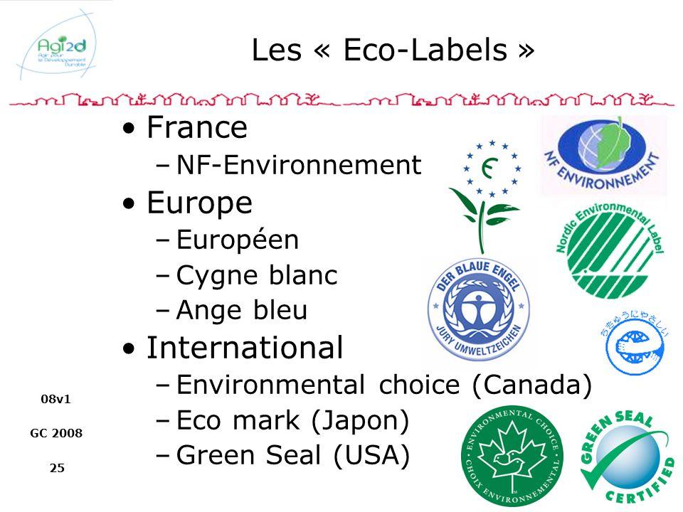 Les « Eco-Labels » France Europe International NF-Environnement