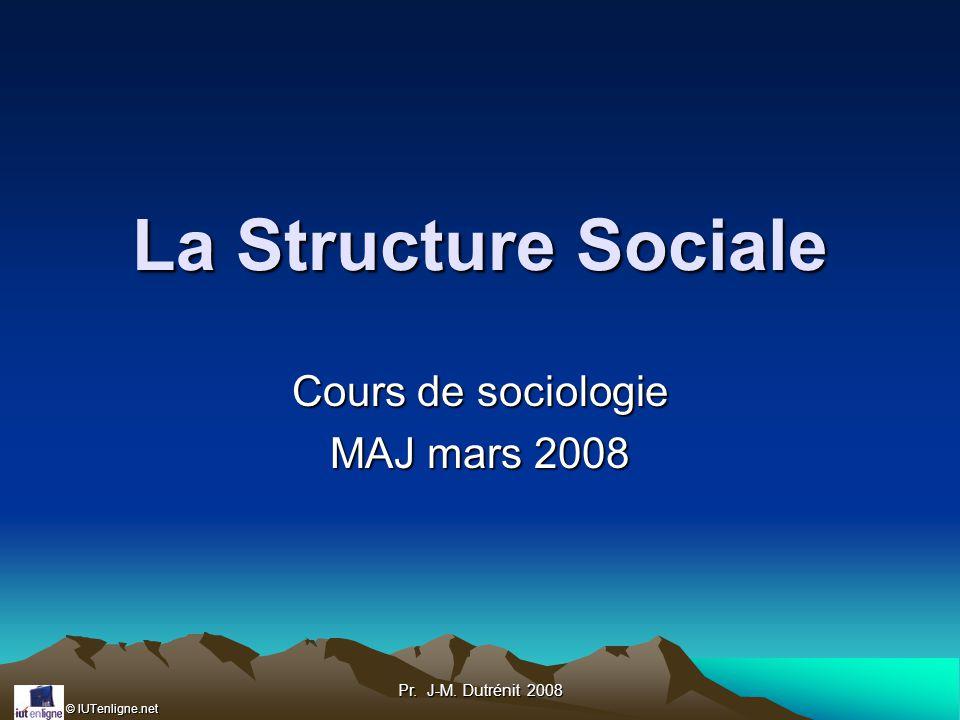Cours de sociologie MAJ mars 2008