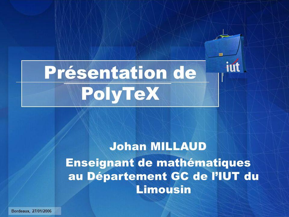 Présentation de PolyTeX