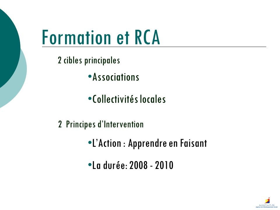 2 Principes d'Intervention