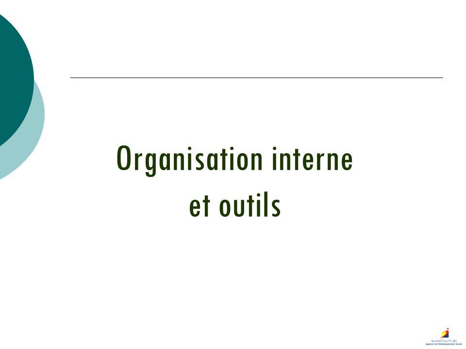 Organisation interne et outils