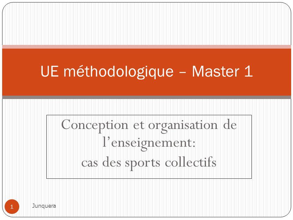 UE méthodologique – Master 1
