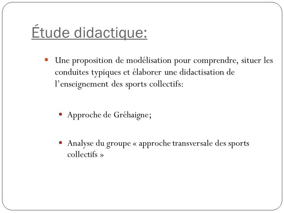Étude didactique:
