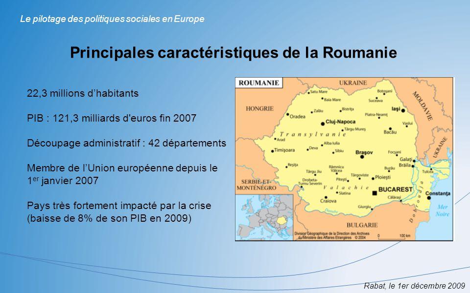 Principales caractéristiques de la Roumanie