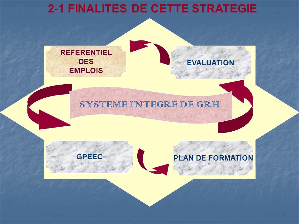 2-1 FINALITES DE CETTE STRATEGIE