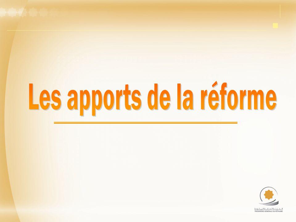 Les apports de la réforme