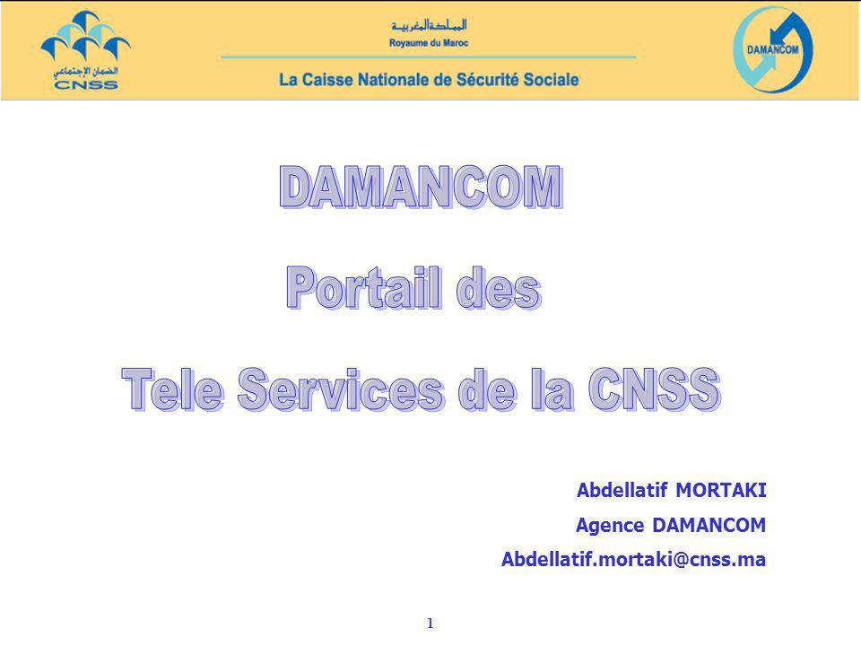 Tele Services de la CNSS