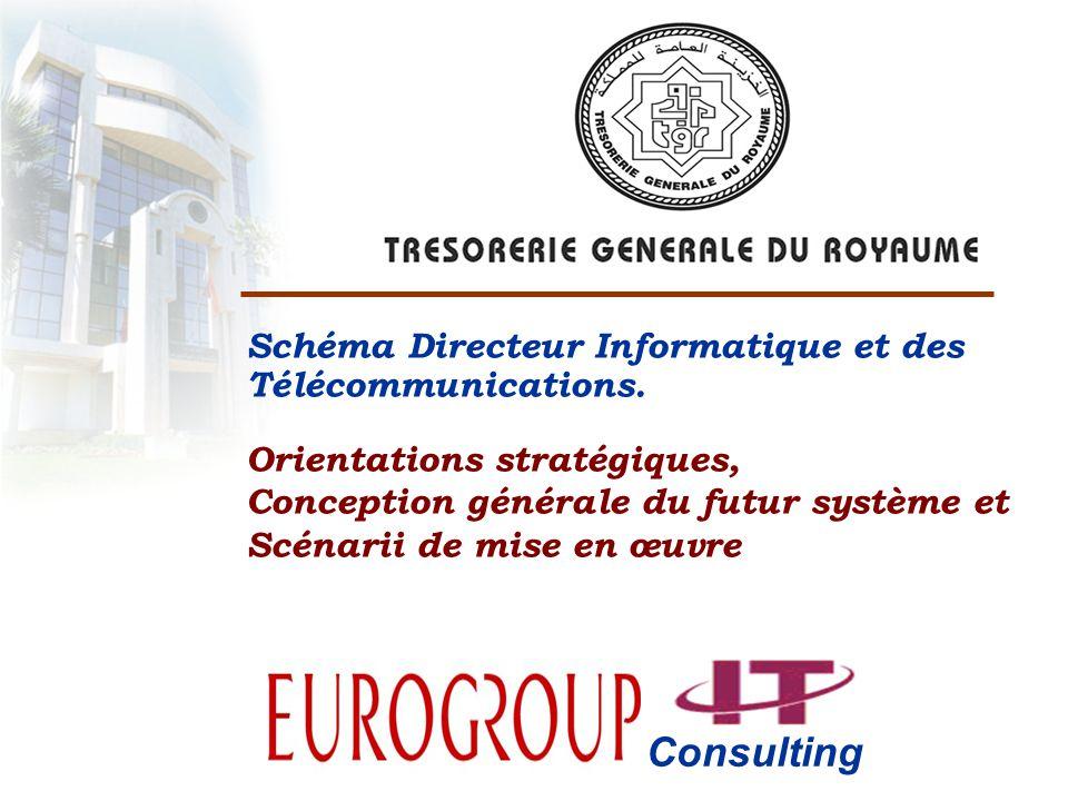 Consulting Schéma Directeur Informatique et des Télécommunications.