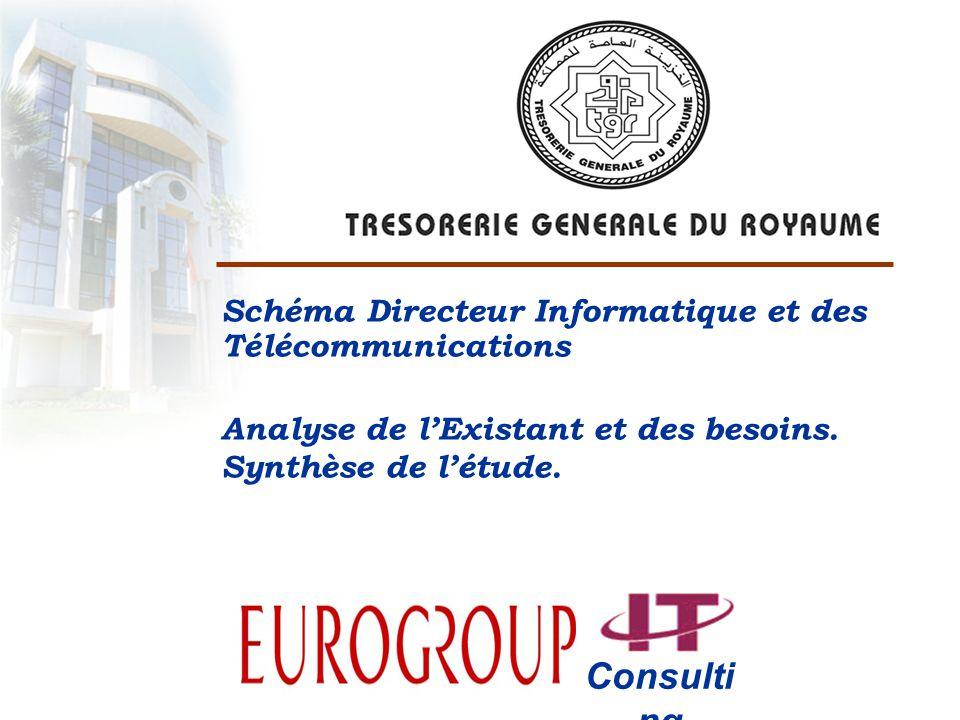 Consulting Schéma Directeur Informatique et des Télécommunications