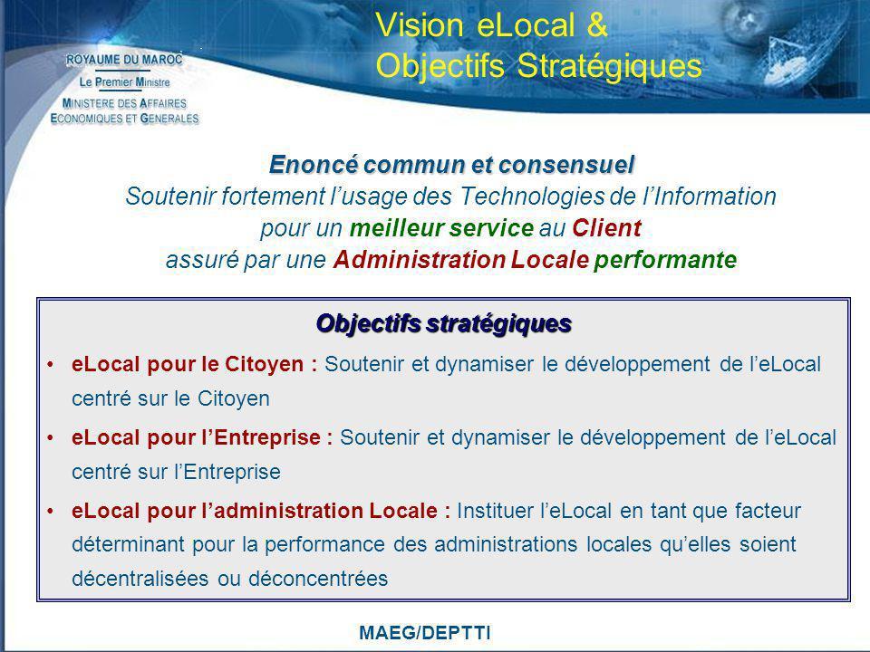 Vision eLocal & Objectifs Stratégiques