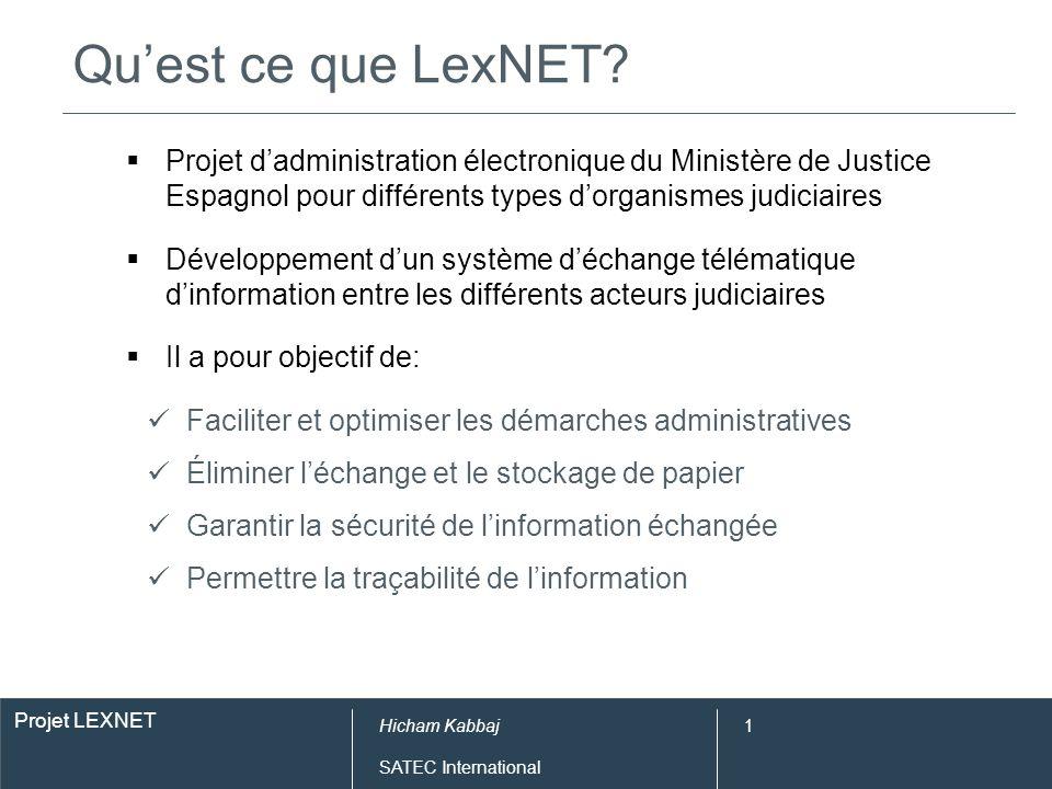 Caractéristiques de LexNET