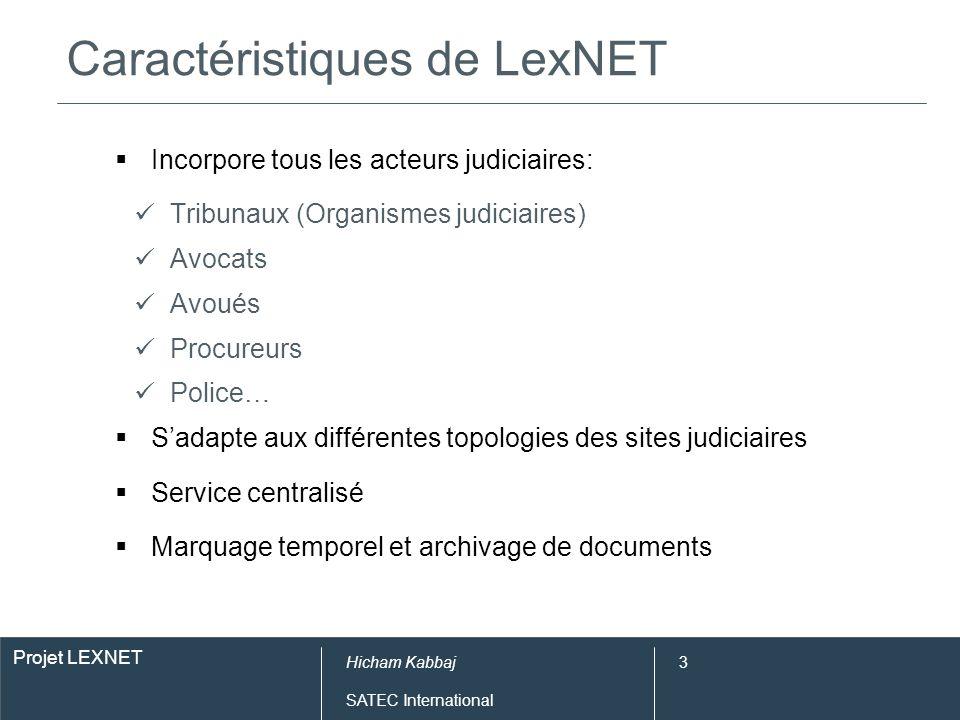 Pré-requis fonctionnels de LexNET