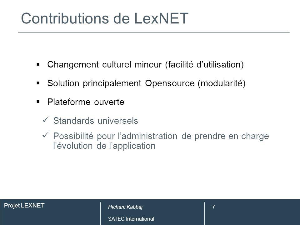 Contributions de LexNET (en chiffres)
