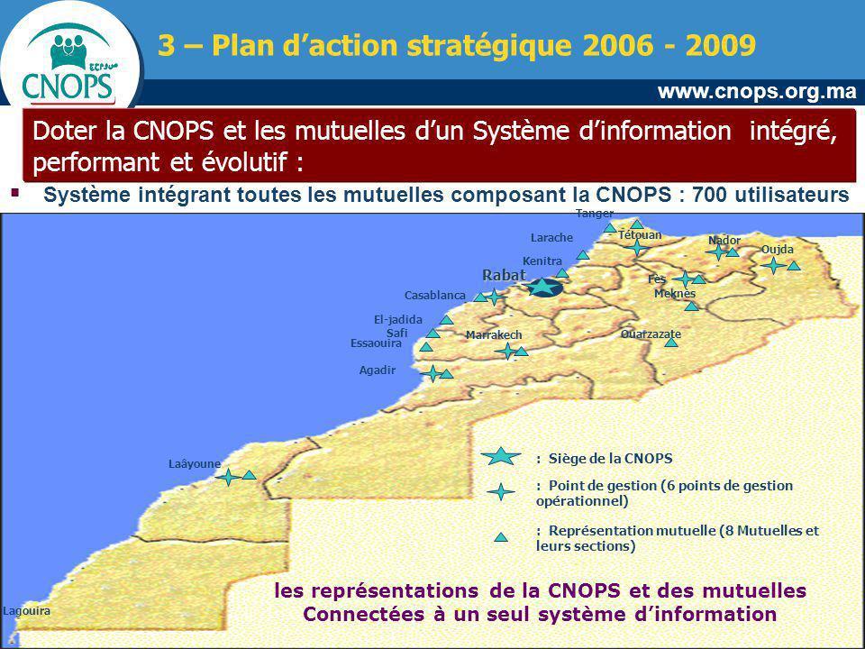 3 – Plan d'action stratégique 2006 - 2009