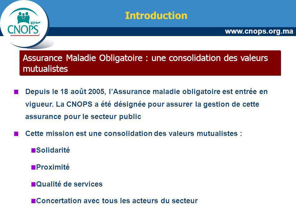 Introduction Assurance Maladie Obligatoire : une consolidation des valeurs mutualistes.