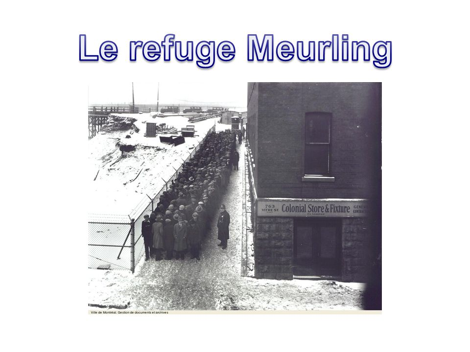 Le refuge Meurling