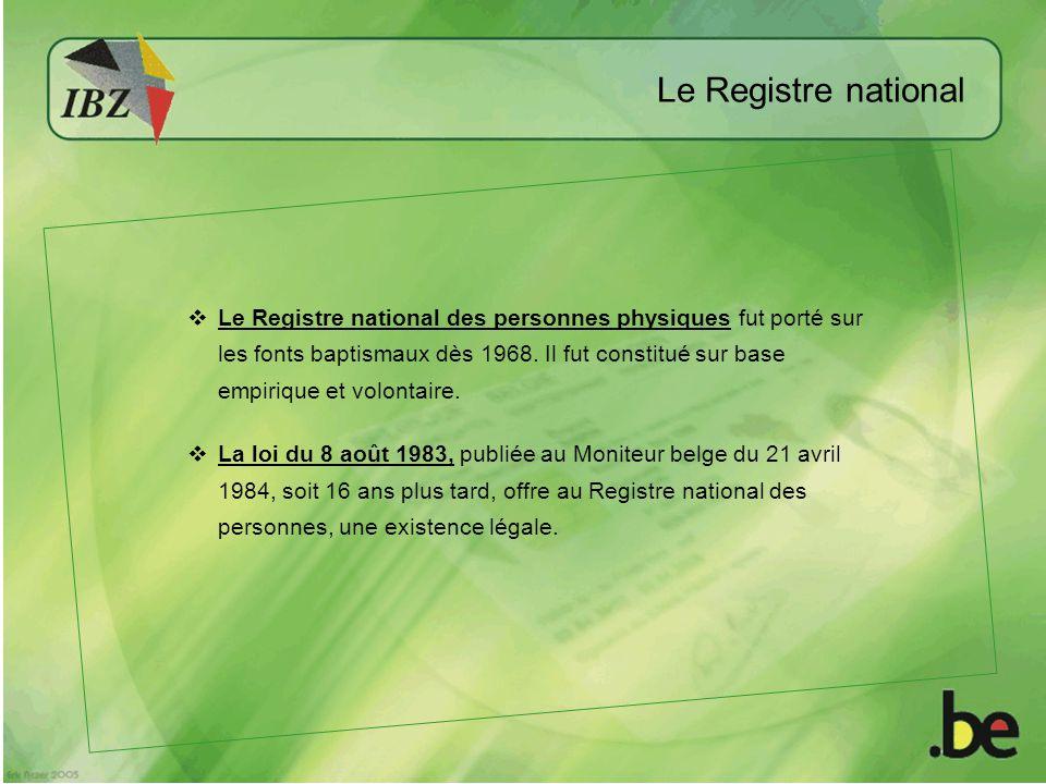 Le Registre national