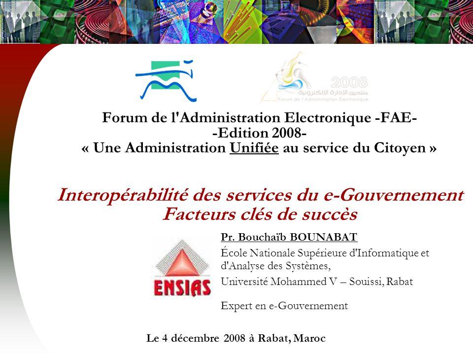 Le 4 décembre 2008 à Rabat, Maroc