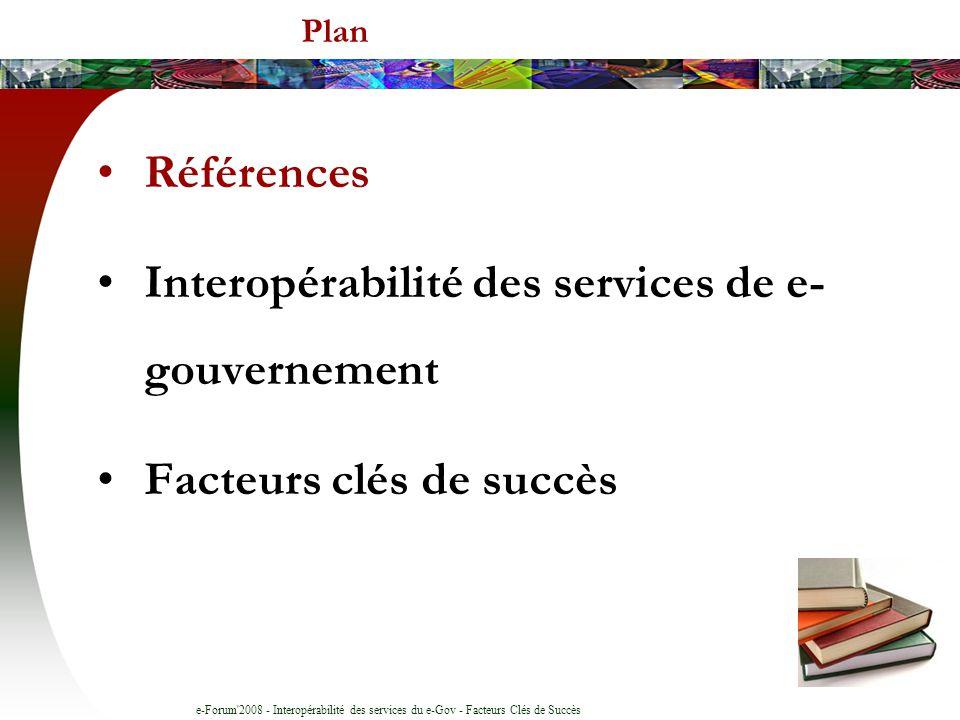 Interopérabilité des services de e- gouvernement