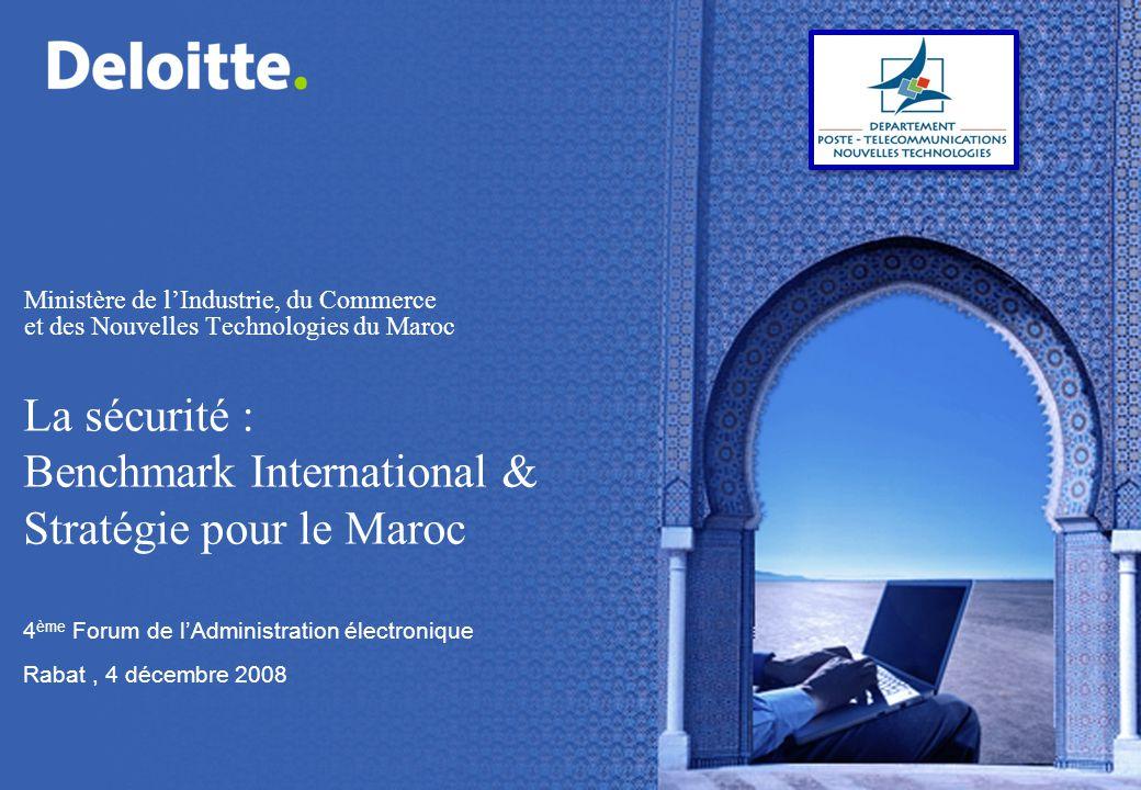 4ème Forum de l'Administration électronique Rabat , 4 décembre 2008