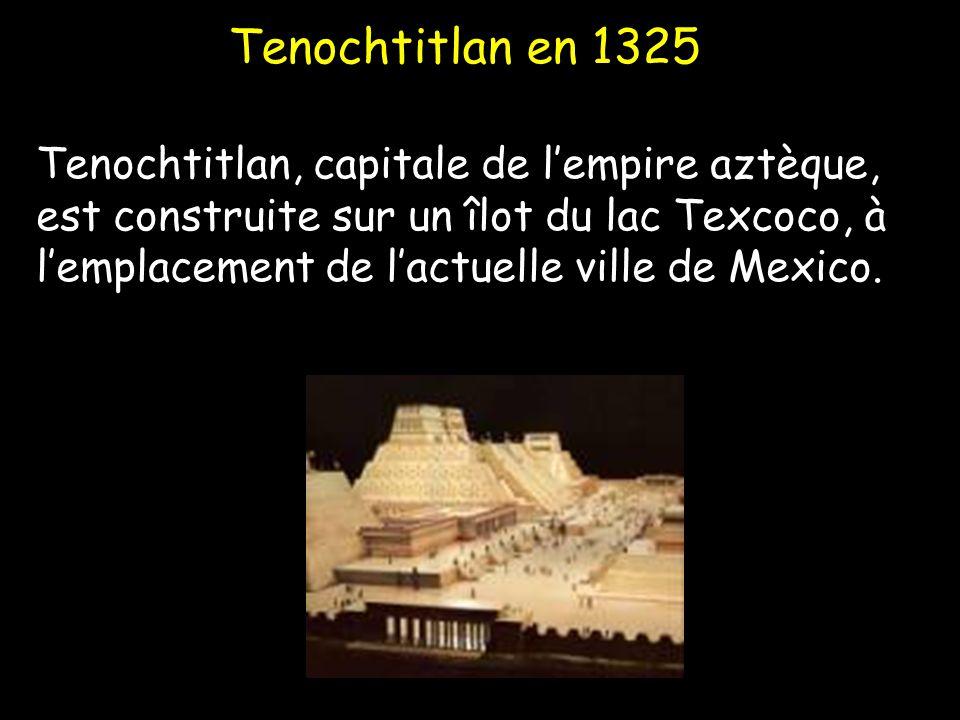Tenochtitlan en 1325