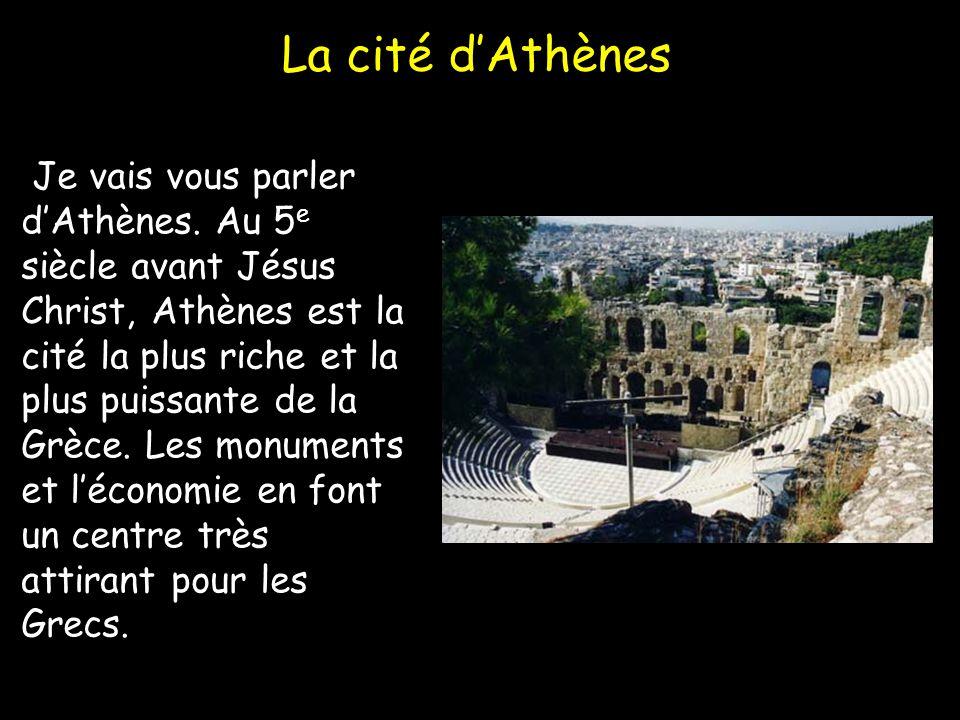 La cité d'Athènes