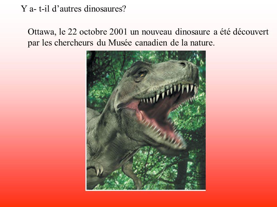 Y a- t-il d'autres dinosaures