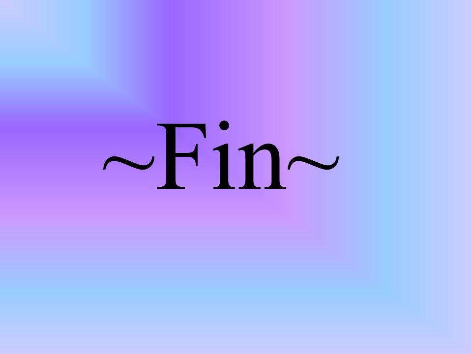 ~Fin~
