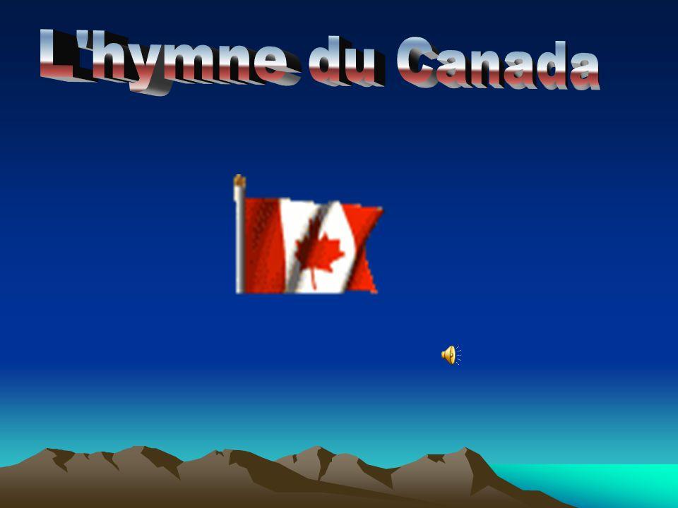 L hymne du Canada