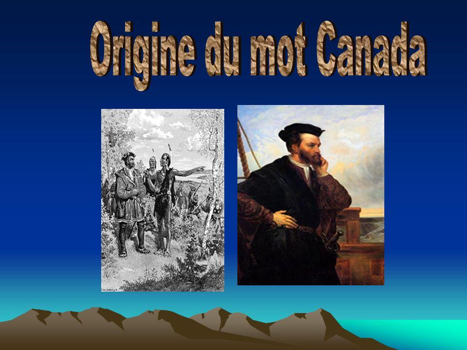 Origine du mot Canada