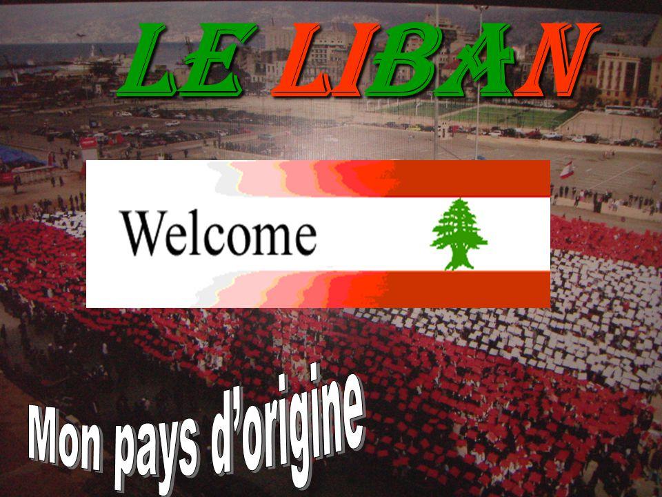 Le Liban Mon pays d'origine