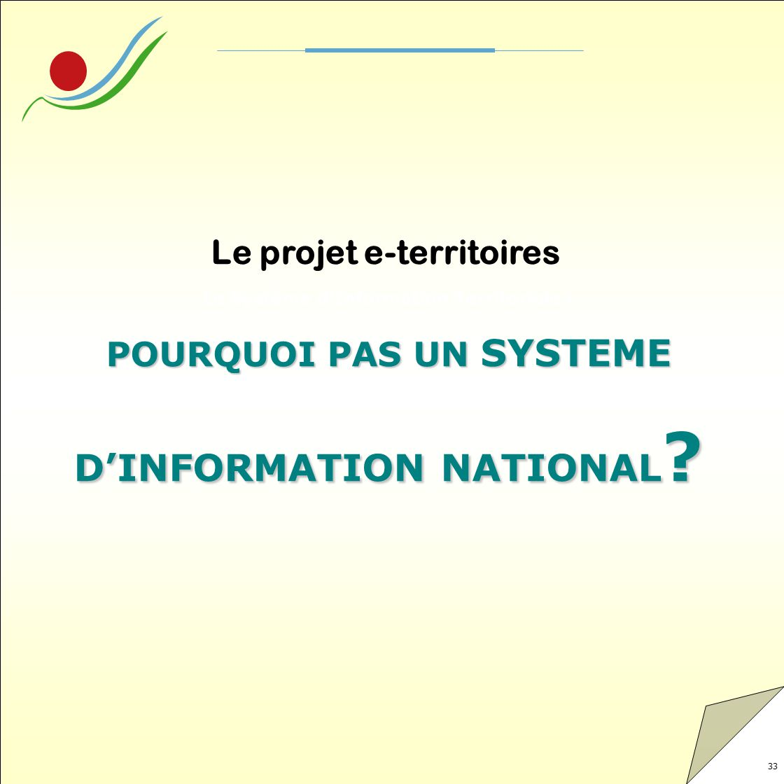 D'INFORMATION NATIONAL