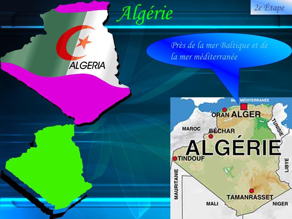Algérie 2e Étape Près de la mer Baltique et de la mer méditerranée