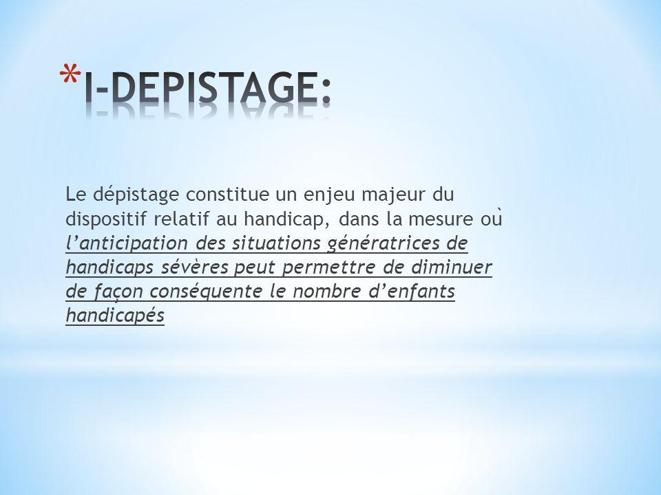 I-DEPISTAGE: