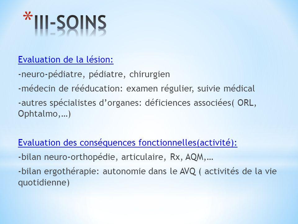 III-SOINS