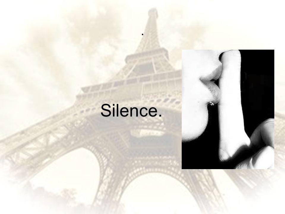 . Silence.