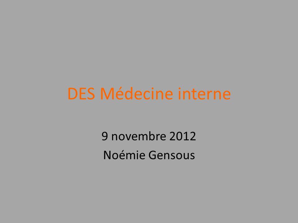 9 novembre 2012 Noémie Gensous