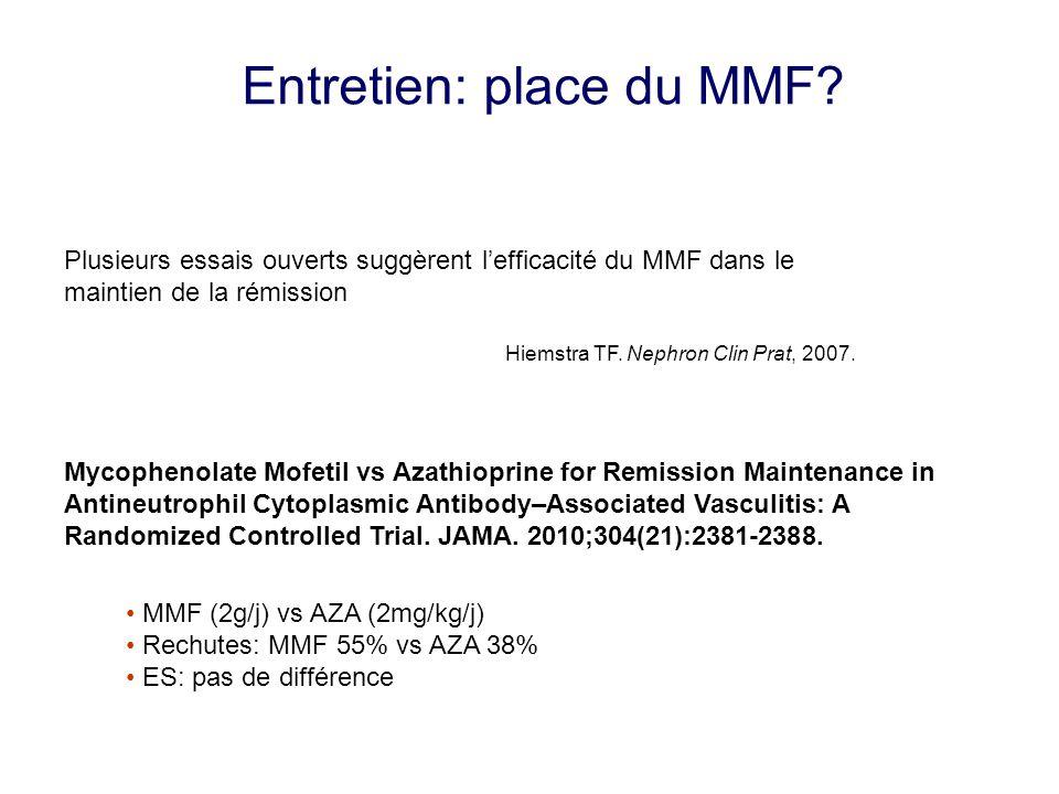 Entretien: place du MMF