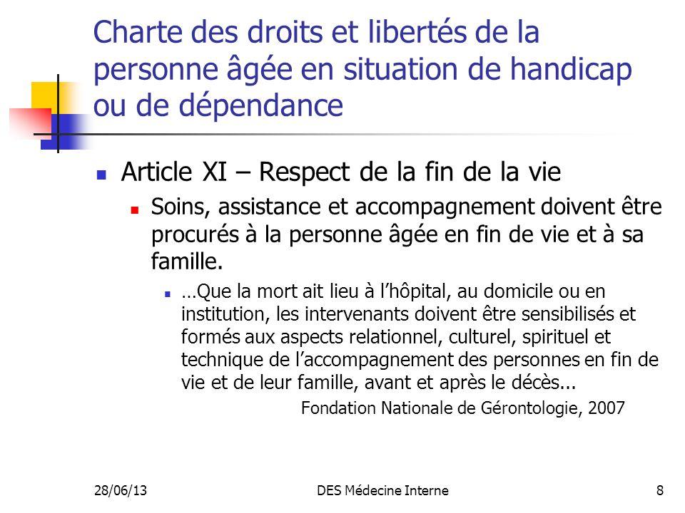 Charte des droits et libertés de la personne âgée en situation de handicap ou de dépendance