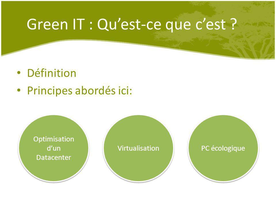 Green IT : Qu'est-ce que c'est
