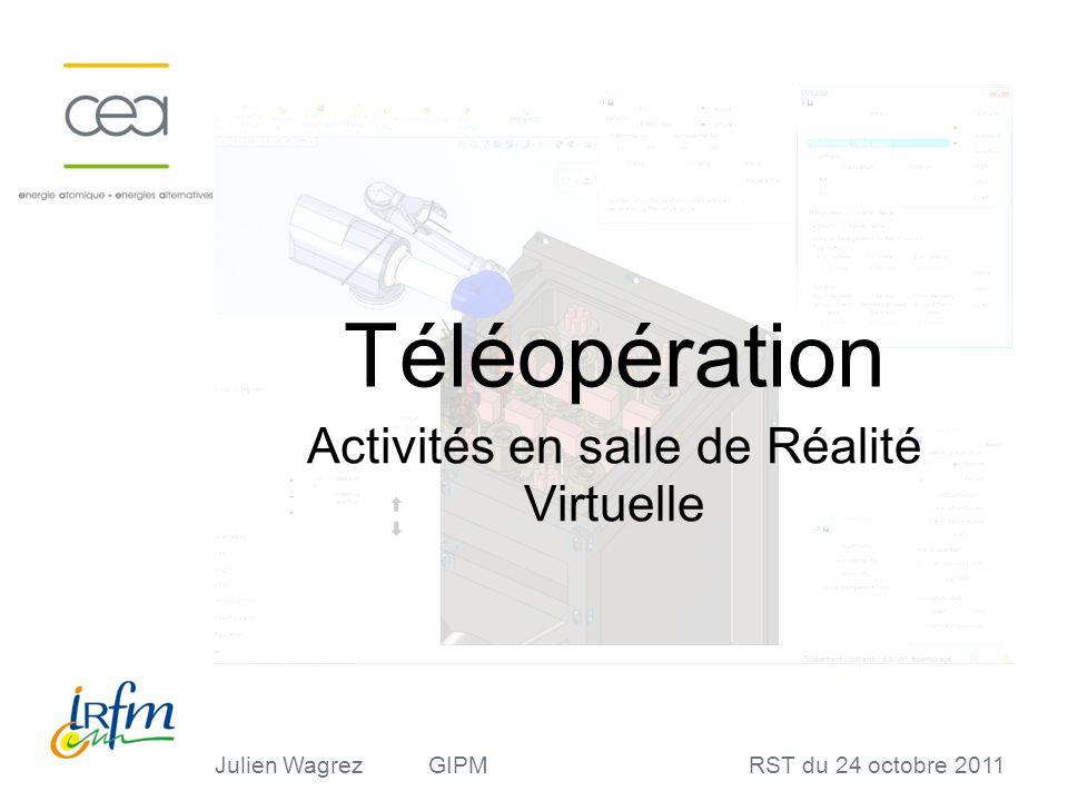 Activités en salle de Réalité Virtuelle