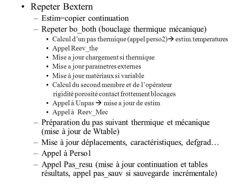 Repeter Bextern Estim=copier continuation