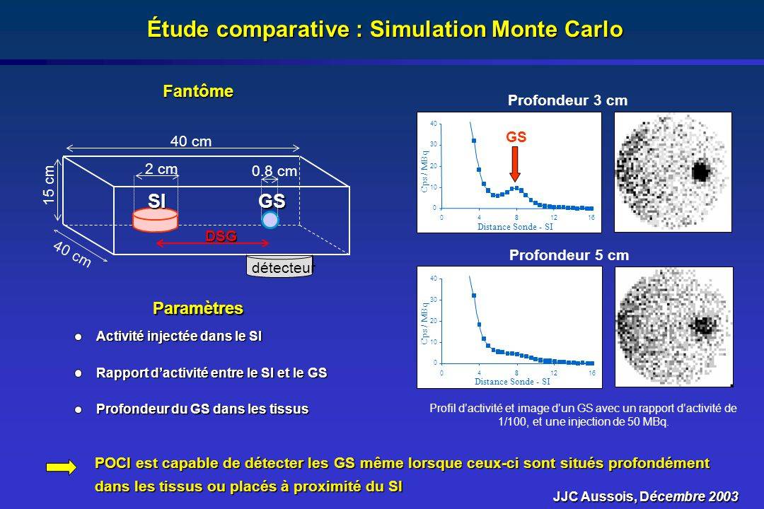 Étude comparative : Simulation Monte Carlo